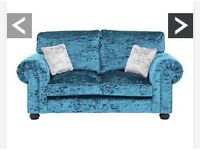 New crushed velvet Laurence Llewelyn 2seater sofa