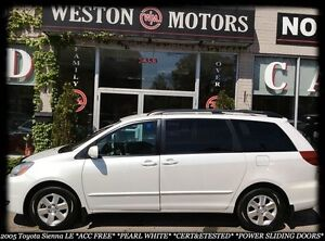 2005 Toyota Sienna LE*ACC FREE*CERT&ETESTED*FINANCE APPROVED