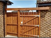 Garden Gate and Fence Panel