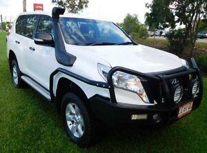 2014 Toyota Landcruiser Prado KDJ150R MY14 GX White 5 Speed Sports Automatic Wagon Hidden Valley Darwin City Preview