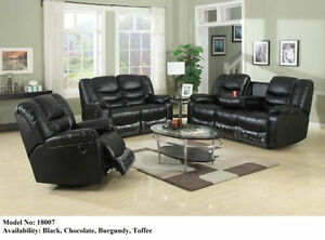 3 PCS FULLY RECLINER SOFA SET