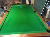 7ft Pool Table Slate Bed, Kirkcaldy