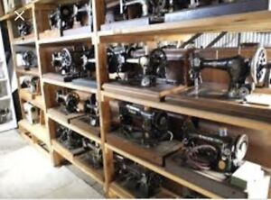 Wanted : antique sewing machines !!!$$$$!!!