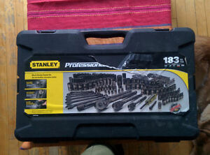 Stanley 183 piece hand tools and MasterCraft maximum