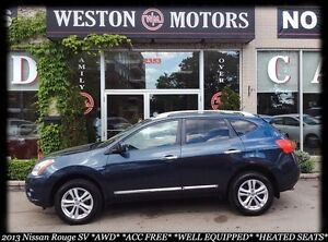 2013 Nissan Rogue SV*AWD*ACC FREE*SPORT WHEELS*BUY HERE PAY HERE