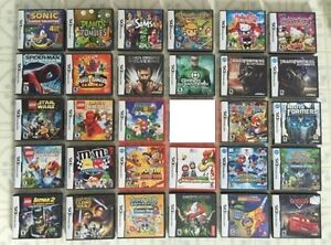 TONS OF DS GAMES! Poke.HeartGold /White, Mario Kart, Mario&Lugi
