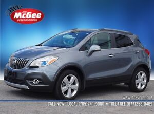 2015 Buick Encore Leather AWD 1.4L Turbo, Dual Pwr Htd Ltr Bk...
