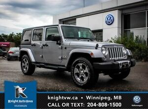 2016 Jeep Wrangler Unlimited Sahara 4x4 w/ Soft Top + Hard Top