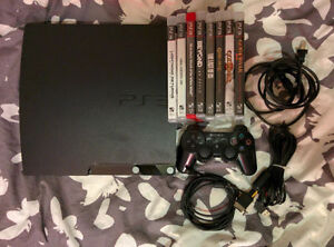 Play Station 3 120GB + 8 Jeux