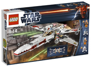 Star Wars Lego X-Wing 9493-1 with mini figures