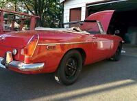 1971 MGB - Project car 900 or trade for snowblower