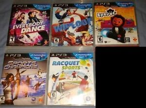 Many Playstation 3 Move Games for Sale (Various Prices)
