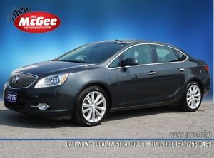 2015 Buick Verano Leather Experience Buick Package, Nav, Sunr...