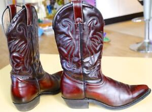Silver Rebel Western Boots size 8