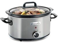 Crockpot Slow Cooker (Stainless Steel)