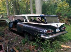 1959 Chevrolet Parkwood wagon-parting out