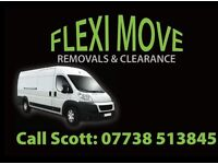 RELIABLE,FRIENDLY MAN & VAN,REMOVALS & CLEARANCE FULLY INSURED.
