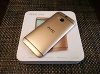 gold HTC M8  (works with WIND and ALL carriers)