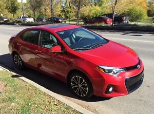 2015 Toyota Corolla S (Lease Transfer/Buyout) $1500 Incentive!