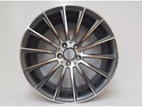 Mercedes w205 19 inch alloys amg line c e s class wheels