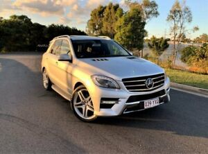 2014 Mercedes-Benz M-Class W166 MY805 ML350 BlueTEC 7G-Tronic + Silver 7 Speed Sports Automatic Darra Brisbane South West Preview