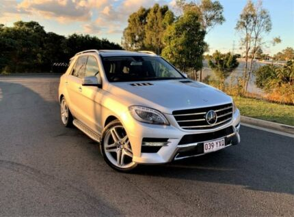 2014 Mercedes-Benz M-Class W166 MY805 Silver 7 Speed Sports Automatic Wagon Darra Brisbane South West Preview