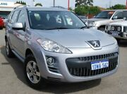 2012 Peugeot 4007 MY12 ST DCS Auto HDi Silver 6 Speed Sports Automatic Dual Clutch Wagon Bellevue Swan Area Preview