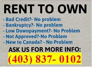 READY TO OWN? CAN'T SAVE THE FULL DOWN PAYMENT? NO MONEY DOWN!!
