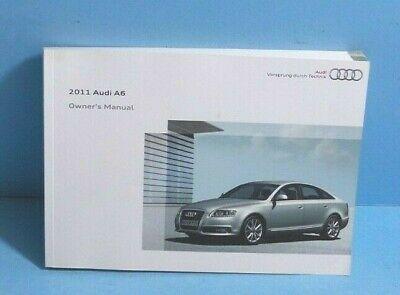 11 2011 Audi A6 owners manual  Audi Owners Manual