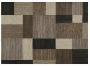 "For Sale a Brand New...WAYFAIR Area Rugs...By Couristan Everest Geometrics/Brown-Multi Area Rug ..5'3"" x 7'6""...$175"