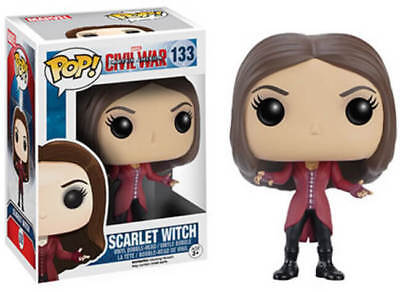 Funko POP!: Marvel: Captitán América: Civil War: Bruja Escarlata