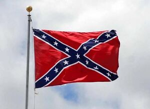 NEW 3X5FT REBEL CONFEDERATE FLAG BANNER FLAGS