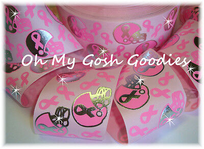 Breast Cancer Awareness Bows (3