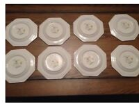37 pieces Johnson Brithers Sonata Dishes-plates, bowls, cake plates, tea cups