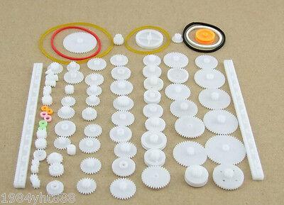 75pcsplastic Gearrack Pulleybeltworm Gearsingle-and Double-gear8-56 Teeth