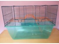 Extra large gerbil hamster cage