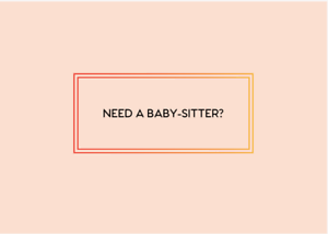 Baby-sitter Available