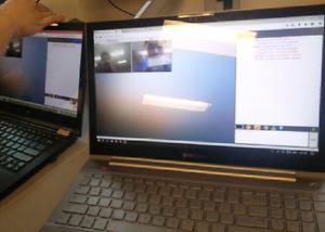 "15"" touchscreen Samsung Chronos Series 7 Intel i7 500 obo"