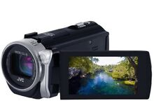 JVC full HD Wi-Fi video camera Everio Camcorder with bag Lavender Bay North Sydney Area Preview