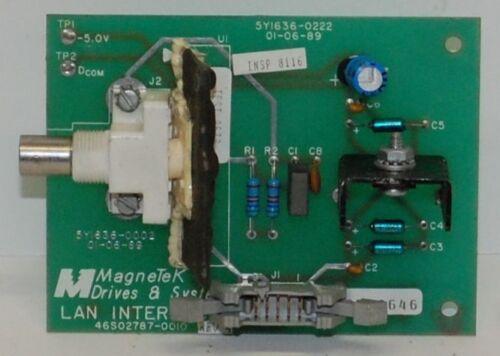 MAGNETEK 46S02787-0010, MICROTRAC DSD-312, Over 10+ in stock