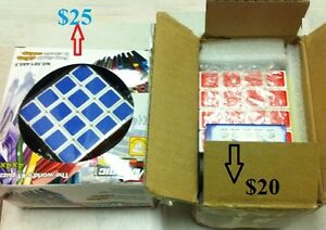 4x4 Rubik magic speed cube original foamed in Box 6.5cmx6.5cm