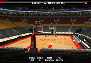 Toronto Raptors Season Tickets - Most games face value or less