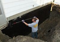 Leaking basement? Call Moores Concrete