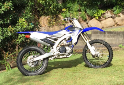 Yamaha YZ450F 2014 - Blue Nathan Brisbane South West Preview