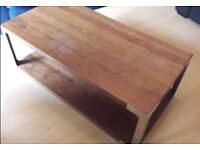 Wooden coffee table £30
