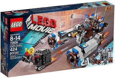 JANUARY 2014 LEGO THE MOVIE 2 IN 1 70806 CASTLE CAVALRY, NIB