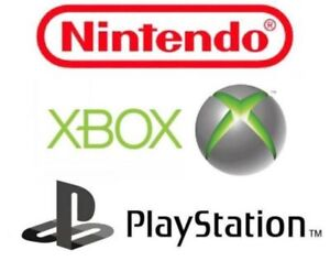 XBOX ONE 360 PS4 PS3 Wii PS2 GAMES JEUX REPAIRS REPARATION PARTS