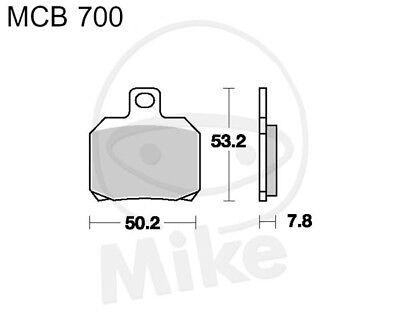 TRW Lucas Bremsbeläge MCB700 vorne Derbi Senda 50 SM DRD Pro