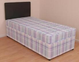 ''AMAZING OFFER'' -- SINGLE DIVAN BED WITH MATTRESS -- ''HURRY UP''