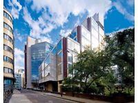 ●(Tower Hill-E1) Modern & Flexible - Serviced Office Space London!
